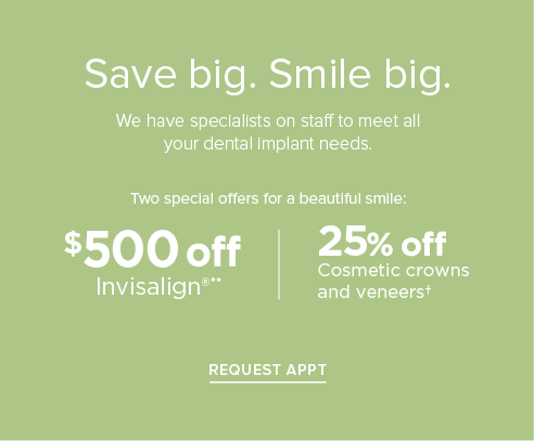 Invisalign Offer | Cosmetic Crowns and Veneers Offer - The Heights Modern Dentistry